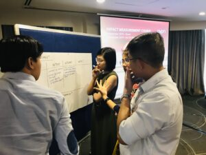 Measuring Impact course hosted by AVPN in Vietnam.